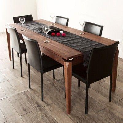 テーブル色と床色のバランス  24万 ダイニングテーブル bluenote 200