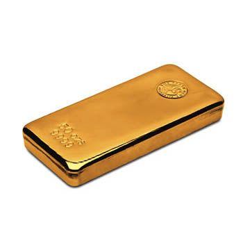 Perth Mint 50oz Gold Cast Bar