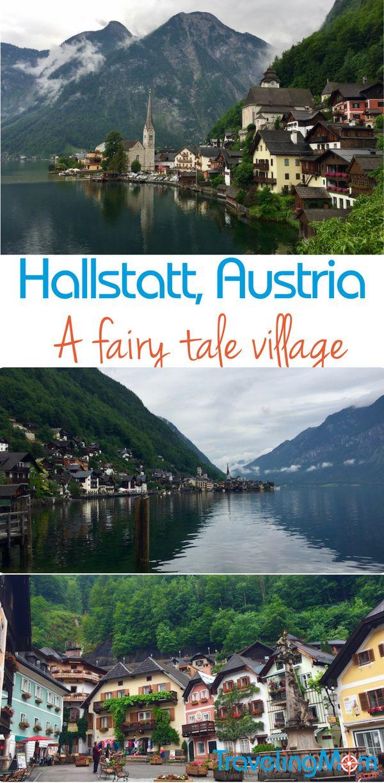The fairy tale village of Hallstatt, Austria is a great day trip from Salzburg.