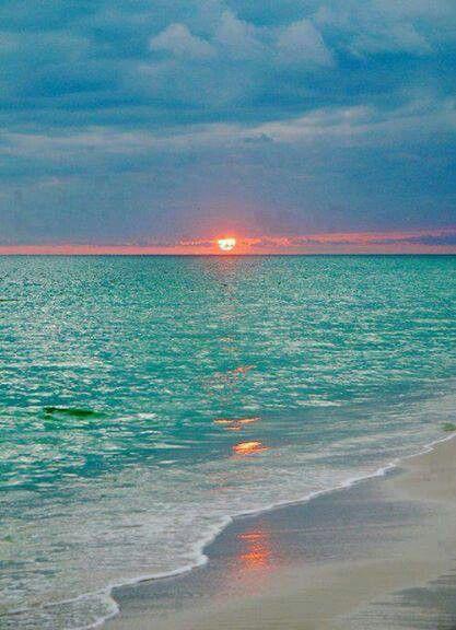 Sunset On The Beach ~ L❤vᏋ ♥