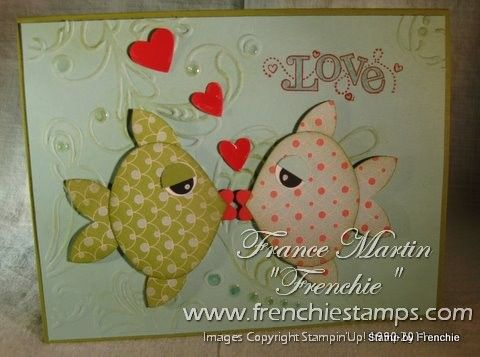 anniversayScrapbook Website, Fish Cards, Cards Ideas, Ornaments Stamps, Adorable Fish, Punch Art, Stamps Scrap, Ornaments Punch, Anniversaries Cards