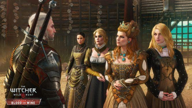 Geralt w krainie gigantycznych grzybów - nowe screeny z dodatku do Wiedźmina 3 -  Krew i Wino - obrazek 1