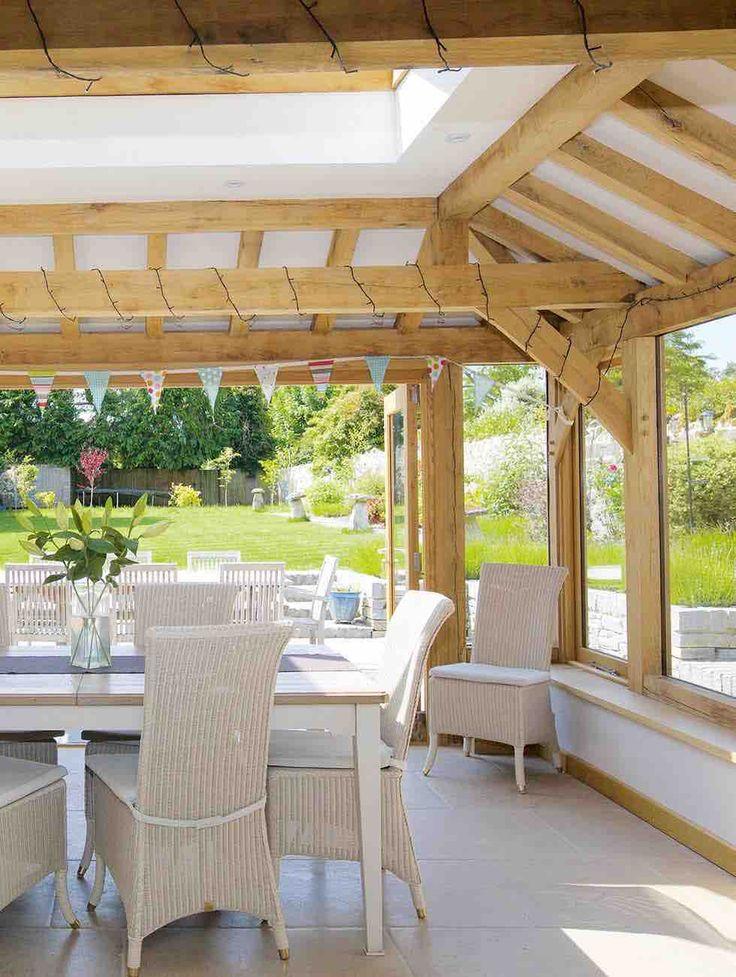Julius bahn oak frame conservatories