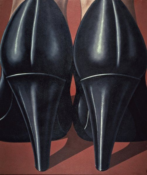 """Lady's Feet"" Painting by Domenico Gnoli"