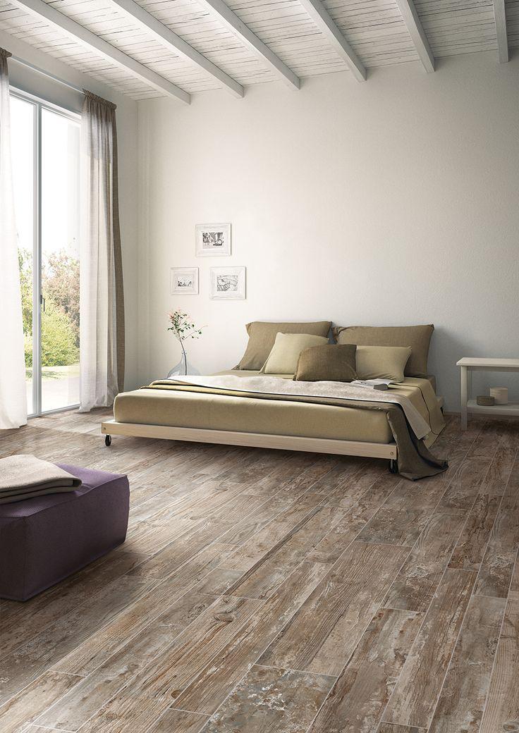 serene bedroom wood plank tile modern rustic distressed bedroom ideas season
