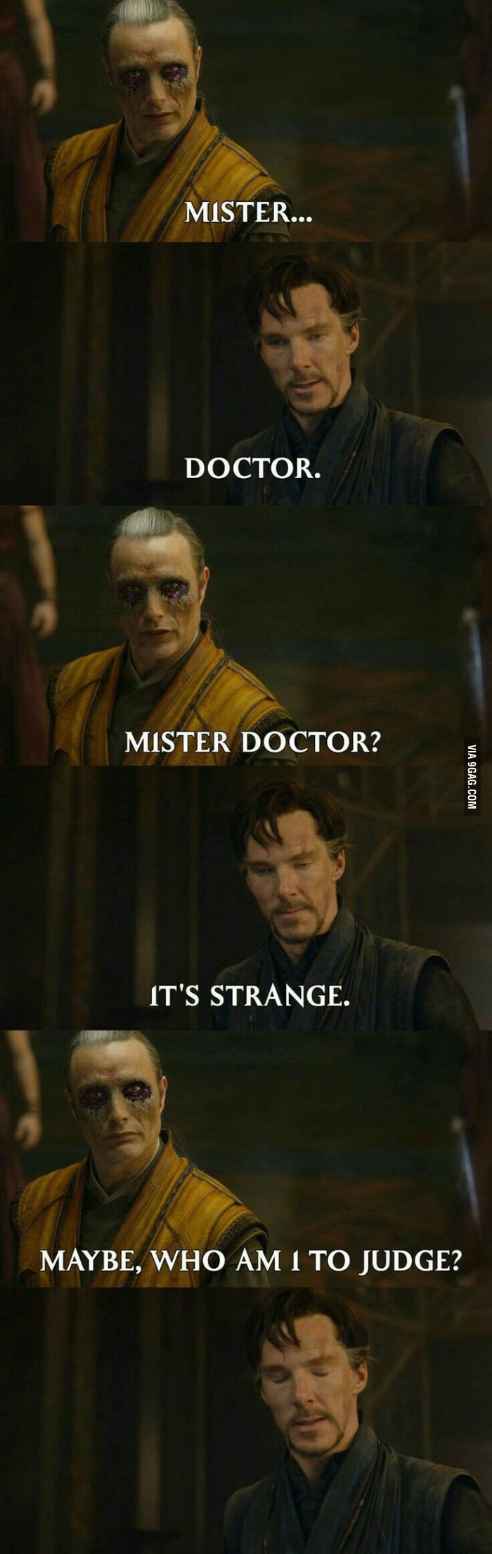 Dormammu, I've come to bargain - 9GAG