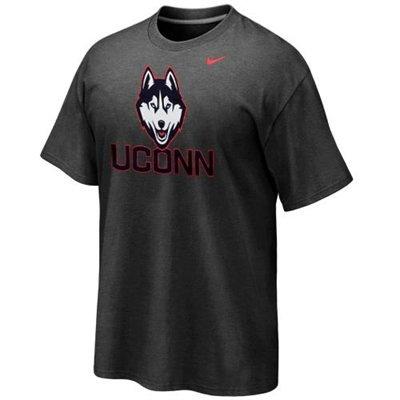 Nike UConn Huskies 2013 New Logo T-Shirt - Charcoal