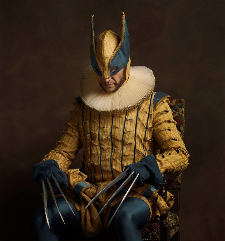 Sacha Goldberger's latest photographic series is an upgrade from his 2013 project, which was inspired by #Flemish #portraitart from the 16th and 17th centuries. http://illusion.scene360.com/art/70710/sacha-goldberger-super-fleming/