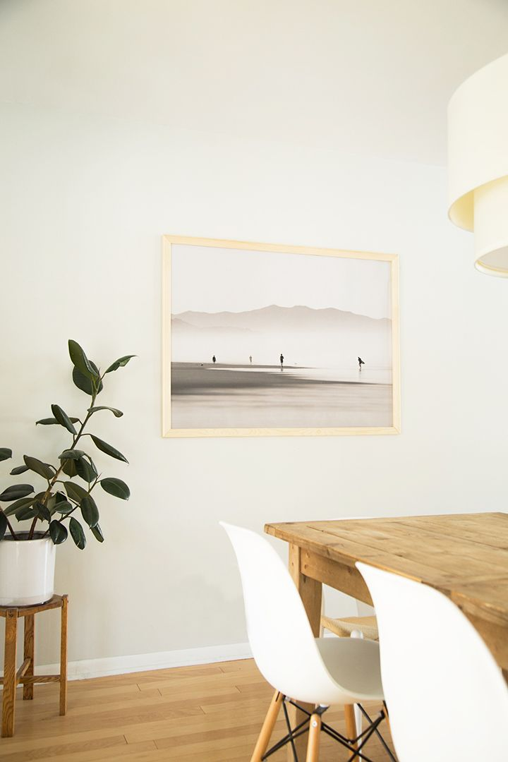 DIY Large Scale Print Wood Frame