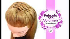 Peinados con Coletas con Volumen - Como hacer Trenzas Faciles y Rapidas - Semirecogidos ♡♡SUSCRÍBETE / DESPLIÉGAME♡♡ REDES SOCIALES: Facebook: http://www.fac...