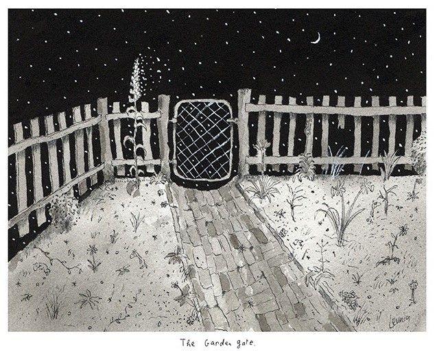 Garden Gate, by Michael Leunig