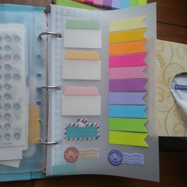 DIY Dashboard | Sticky Notes on Vellum -- I'll be using my Cameo for this project. Needs to fit my Personal Domino! -CLM