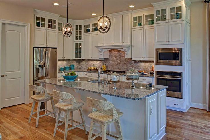Kitchen on Toll Brothers Plymouth Floor Plan
