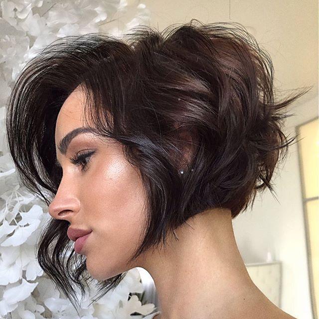 47 Kurz Haar Frisuren Frauen Frech In 2020 Bob Frisur Kurzhaarschnitte Shag Frisuren