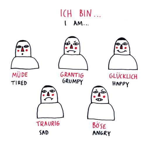 how to express emotions in german, part 1