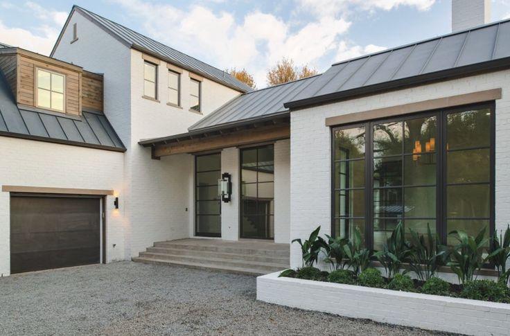 An idea for a garage split level for guest accom above