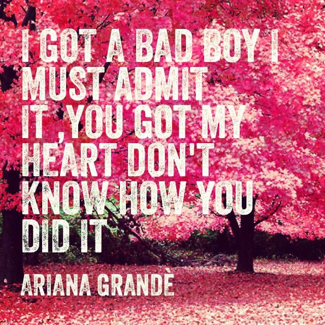 Ariana Grande The Way Lyrics