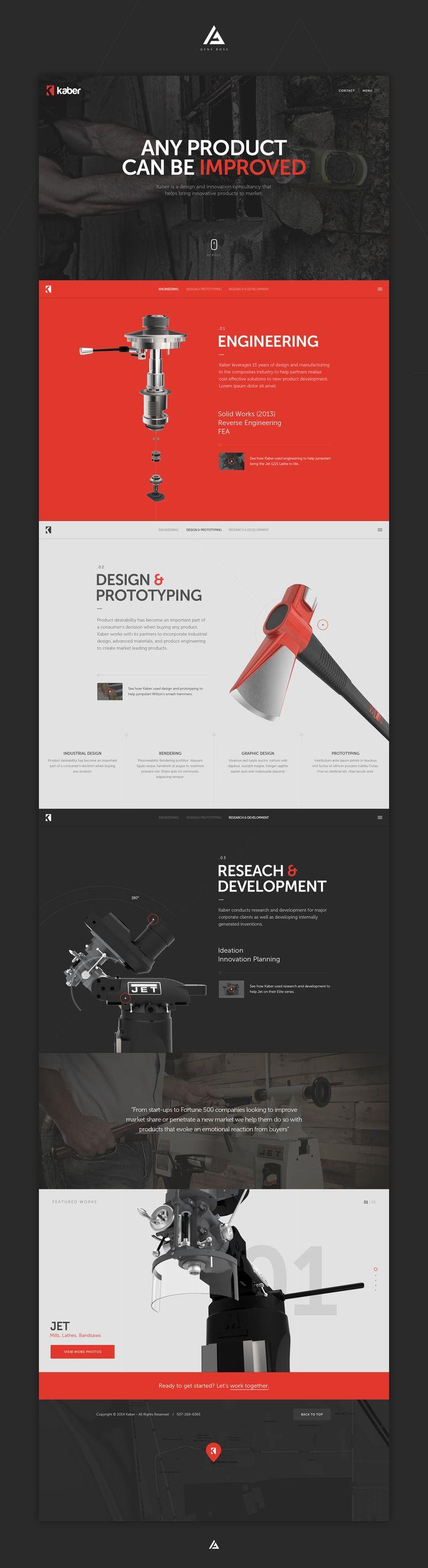 Cool Web Design, kaber. #webdesign #webdevelopment