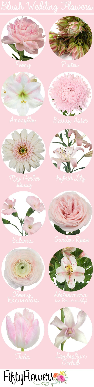 awesome blush wedding flowers best photos
