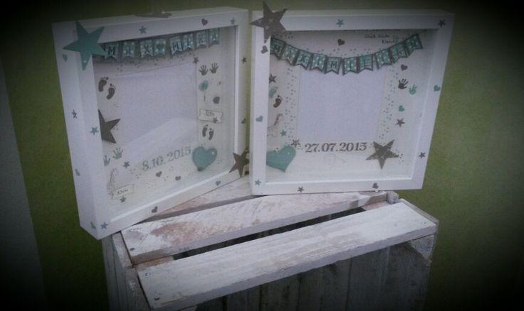 Ribba Rahmen, Schweden, Geburt,stampin up! ,Baby