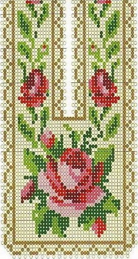 beaded design, but could also work for cross stitch