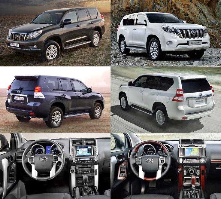 Toyota Land Cruiser Prado (20?? vs 2013)