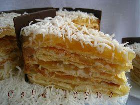 Сafe Iryna: Торт с яблоками и заварным кремом
