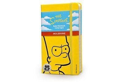 "Moleskine has released this limited-edition notebook to commemorate one of the world's most popular series making it to 25 years on the air!. Featuring an outline of Homer Simpson's ""Doh!"" face on the"