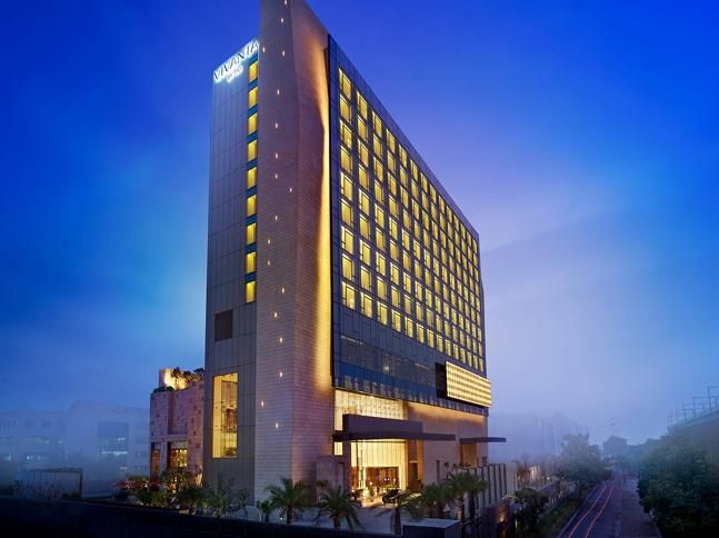 Vivanta is one of the four brands under the Taj Hotels and was recently voted as the World's third best brand for the year 2014. The Vivanta property at Gurgaon is the 100th hotel under the Taj brand and is famous for being the only hotel in the city that allows pets to stay.