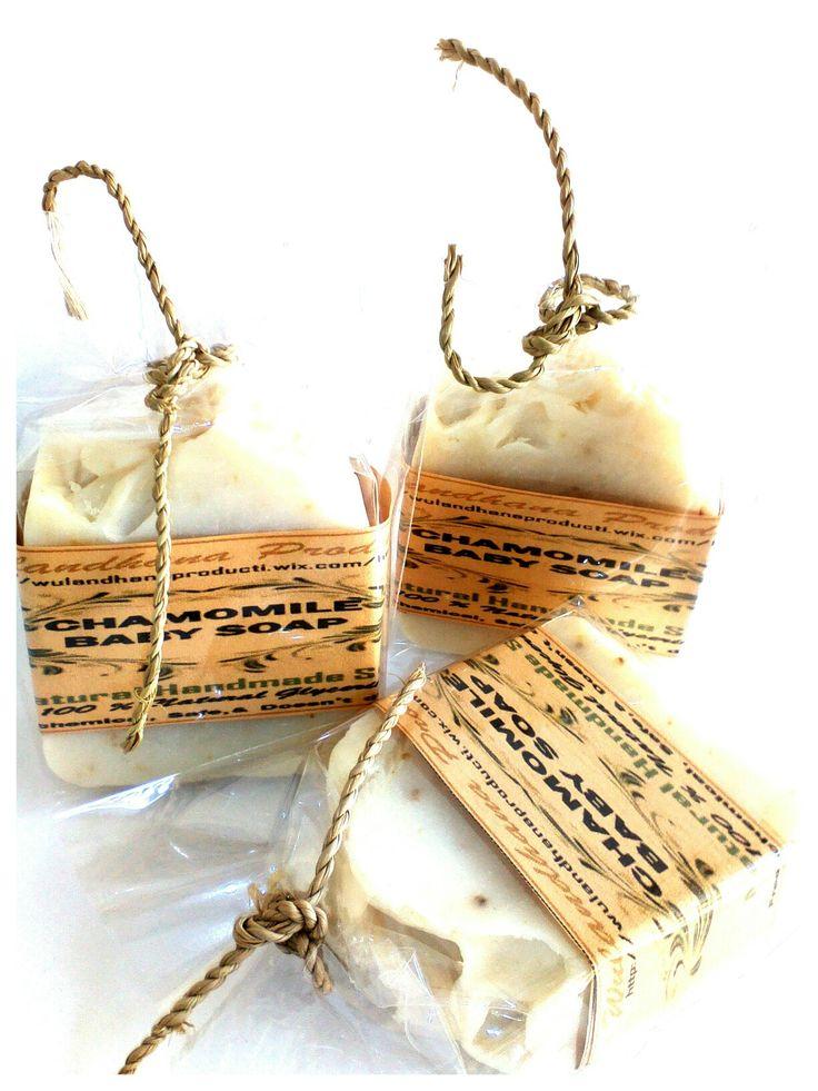 Baby will happy if you give natural and free chemicals soap for baby skin. This soap are contain Chamomile infussed water and oil. Very natural and goof for dry and sensitive skin. Free fragrance. I love it ! Happy shower babies ... !   CHAMOMILE BABY SOAP - NATURAL SOAP - (HANDMADE) *SABUN MANDI BAYI DENGAN BUNGA KAMOMIL* - tanpa pewangi. Bahan utama sabun ini adalah minyak dan butter dari Canola, Sun Flower, Olive oil dan cocoa butter khusus untuk menutrisi yang sangat melembabkan dan…
