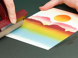How to brayer. Step-by-step. Pictures, not video. So helpful!