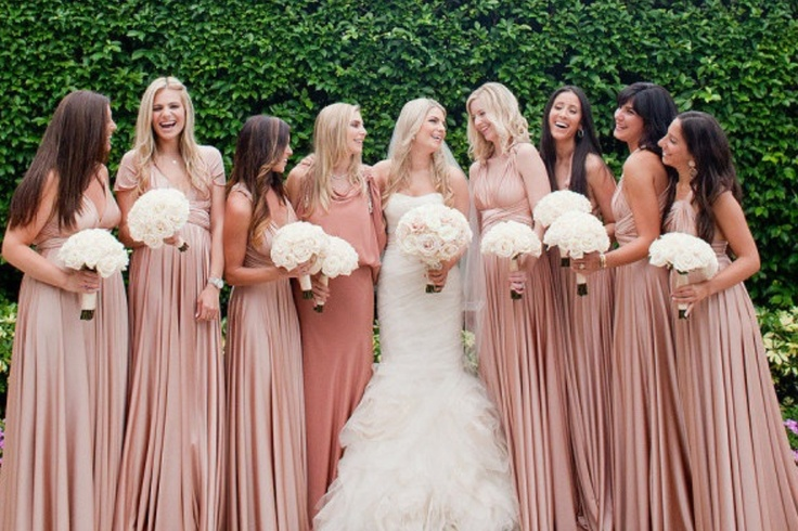 Vintage Dusty Pink Bridesmaid Dresses Uk - Junoir Bridesmaid Dresses