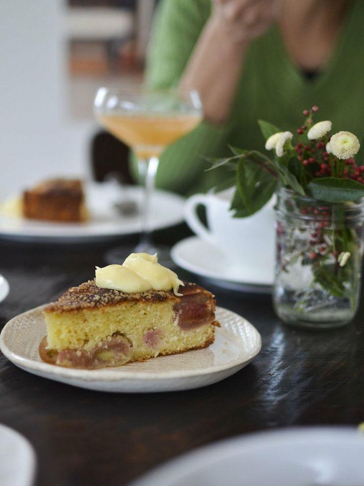 Recipe: Fresh Grape Cake with Luscious Lemon Sauce — Recipes from ...