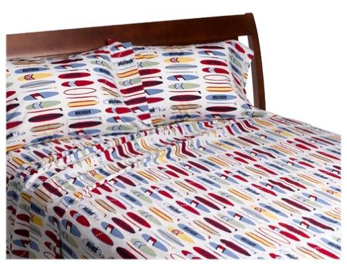Tommy Hilfiger Surfs Up Print Sheet Set 200 Thread Count Twin Extra Long  Sheet