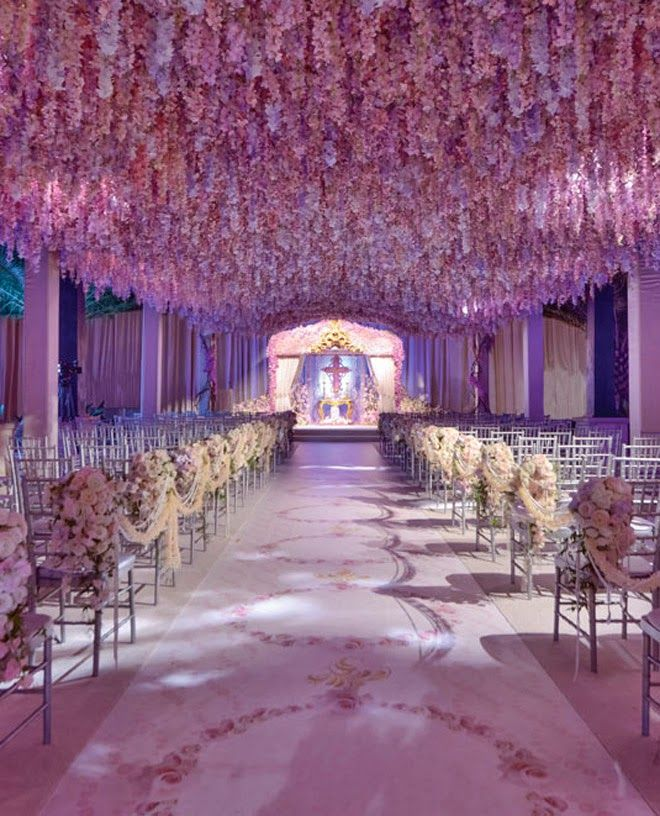 decorating ideas for outside wedding ceremony%0A Style the Aisle  Wedding Ceremony IdeasWedding