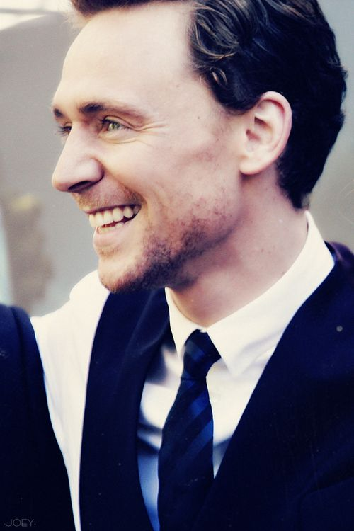 Hiddles smiles are the best.