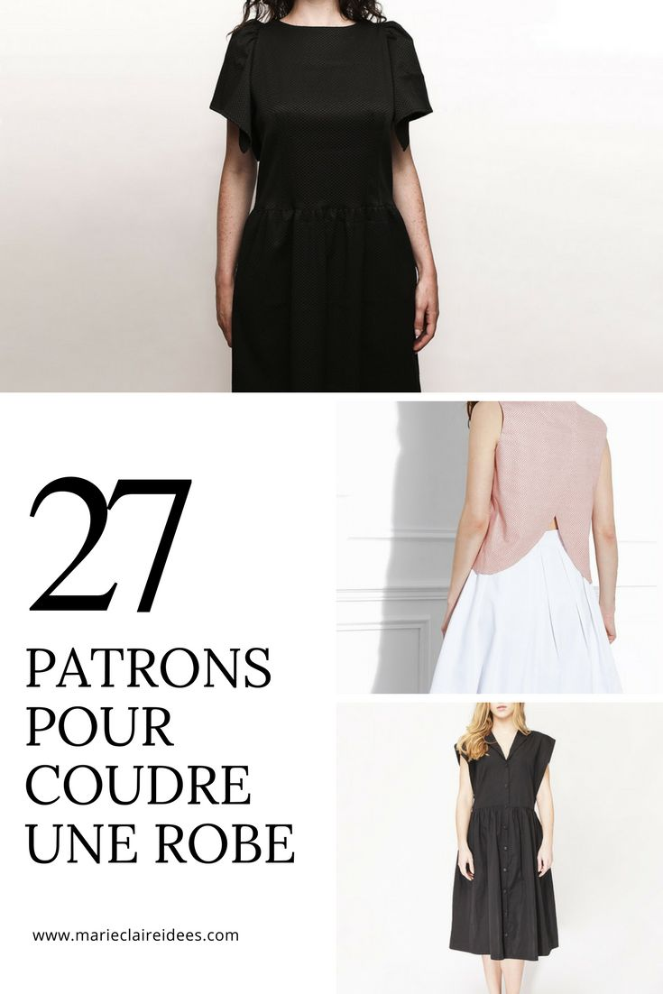 Patrons pour coudre une robe / sewing patterns dress / patrons robes louis antoinette paris