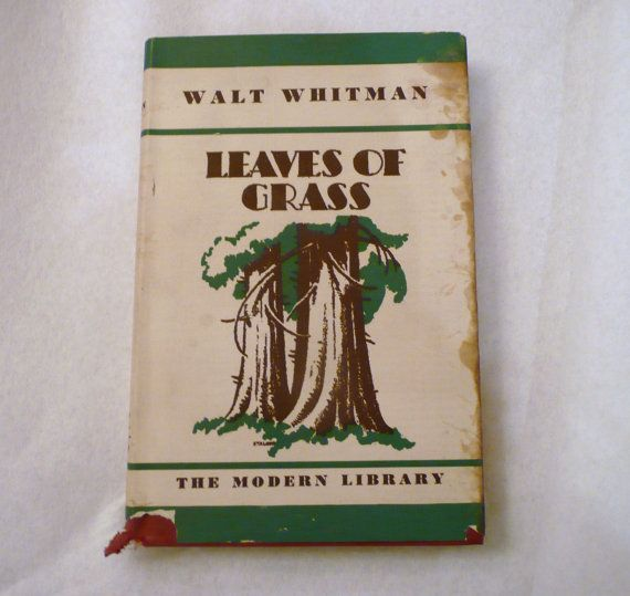 who wrote the book leaves of grass