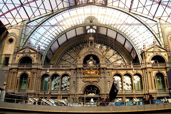 Estação central de Antuérpia
