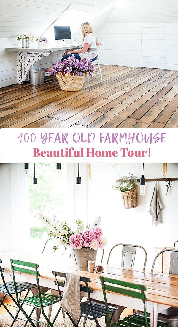 Old Farmhouse Home Tour In Canada Home, Decor, Farmhouse
