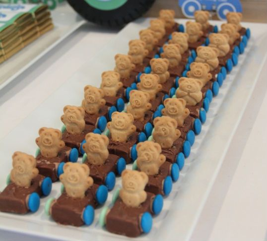 chocolate race cars - These actually have Petty Blue M wheel! #NASCAR