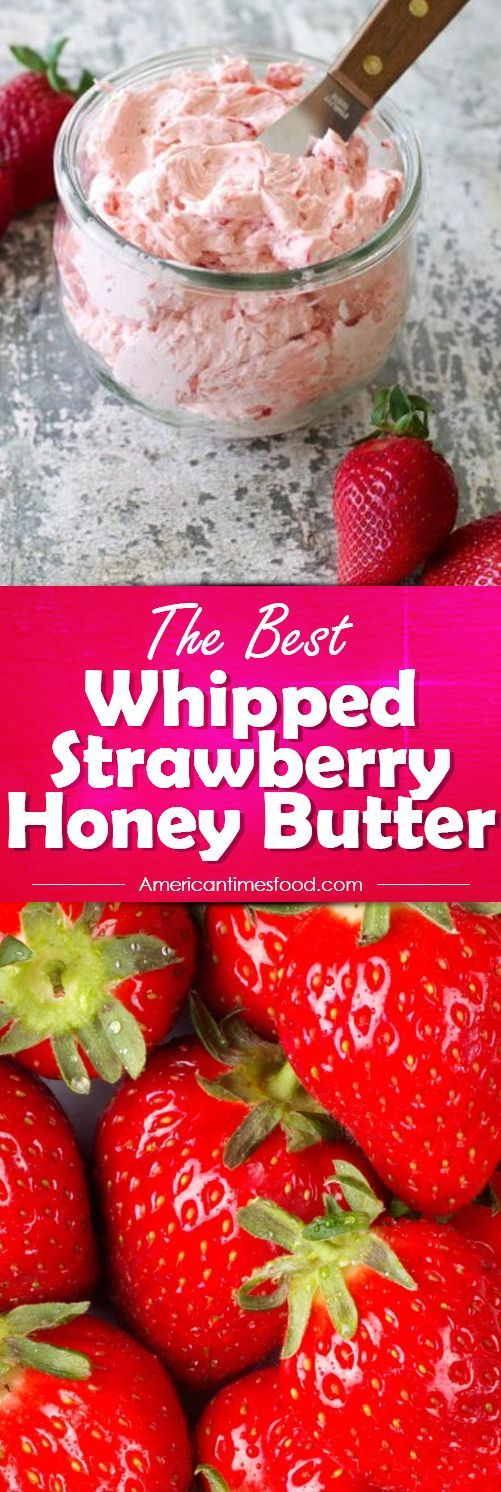Whipped Strawberry Honey Butter  #instantpot #roasted #strawberry #yummy #delicious #food #recipes  #honey #butter