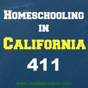 Homeschooling in California