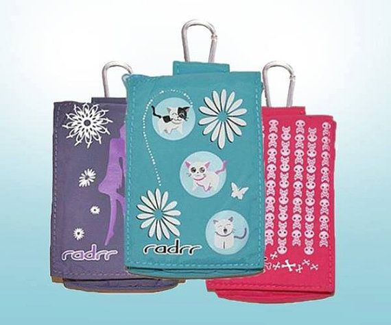 Kids Insulin Pump Case 3 Pack + Belt. Designs available for Boys and Girls by RadrrPumpcases, $46.95. GET ONE FOR FREE!