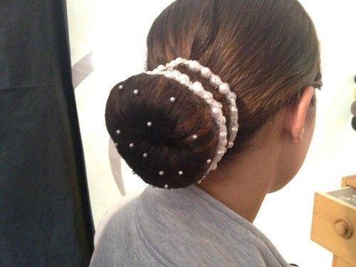 donut with pearls
