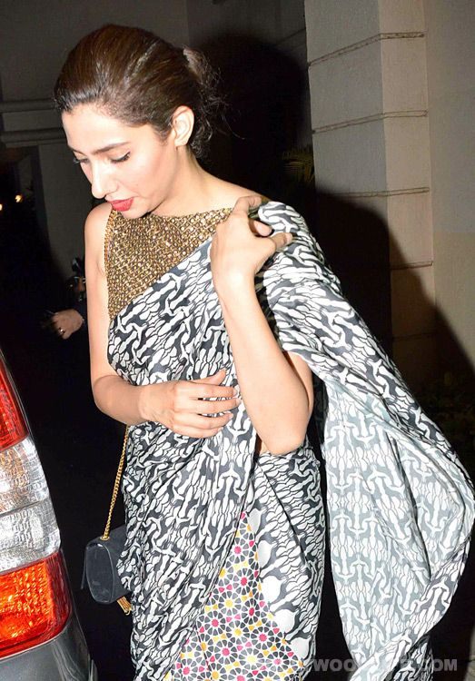 Mahira Khan Recently Spotted in Mumbai, Attend Wedding (view Pictures)
