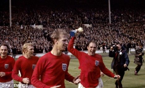 Ray Wilson, Former Huddersfield Town player and England World Cup winner