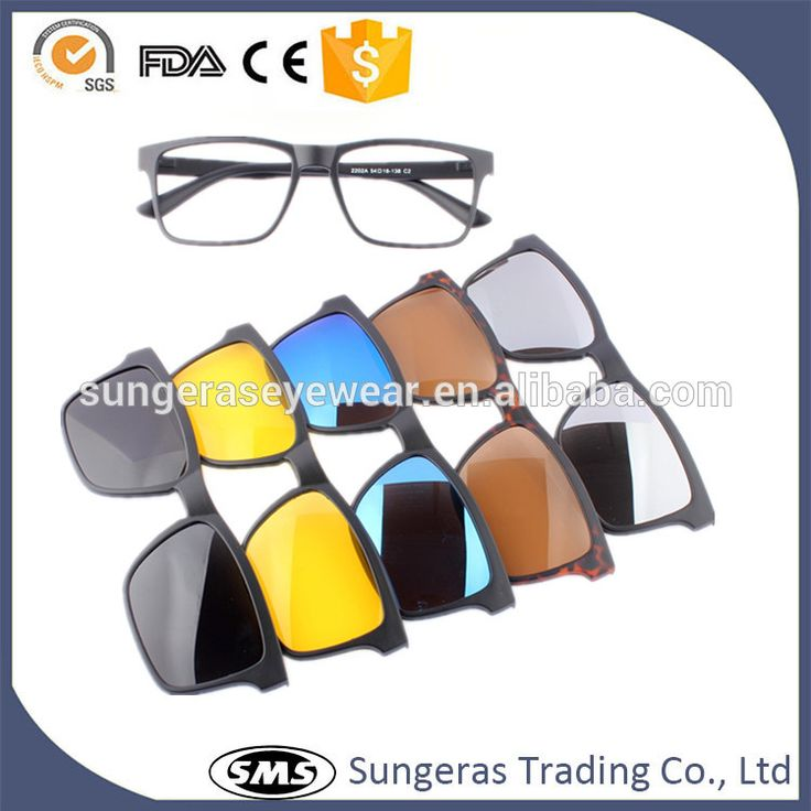 Sungeras 2017 hot sell polarized anti glare ce uv400 fashion day night glasses view frames and clip on sun glasses and wholesale