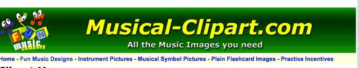 These are free Musical Clip-Art designs which can be used on student worksheets or school newsletters.
