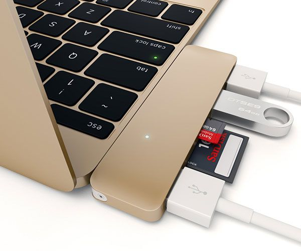 The Satechi USB 3 in 1 Hub Type-C USB is here - but that doesn't mean you can't use your old USB peripherals! Thanks to the Satechi Type-C USB Hub, you can
